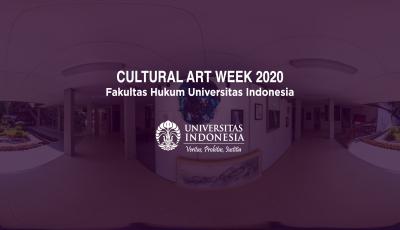 360 Virtual Tour – Art Exhibition Cultural Art Week FH UI 2020 3D Model
