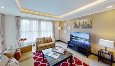 VIRTUAL TOUR – Pondok Indah Golf Apartment (Jasmine Tower – Type B) 3D Model
