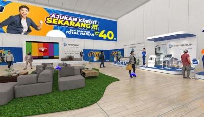 Contoh 3D Virtual Tour Exhibition 3D Model